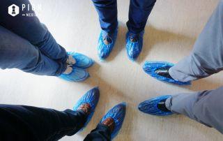 CriniDent in papucii pacientului