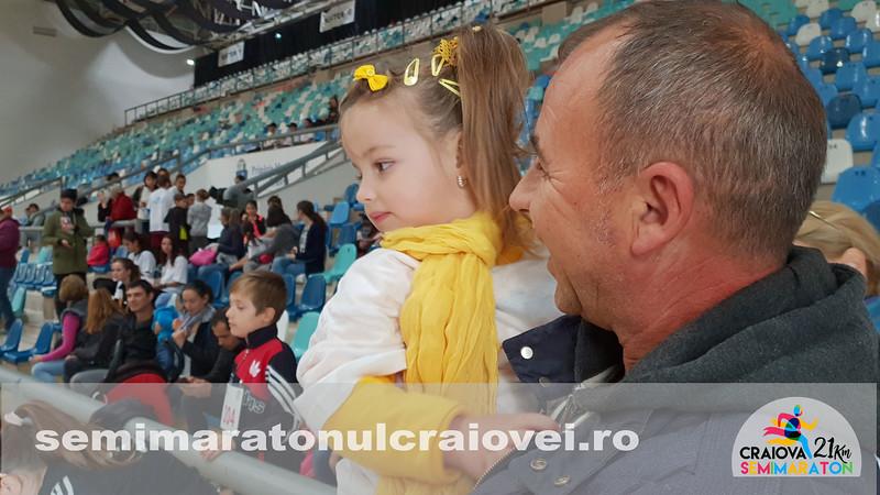 Copii la Semimaratonul Craiovei