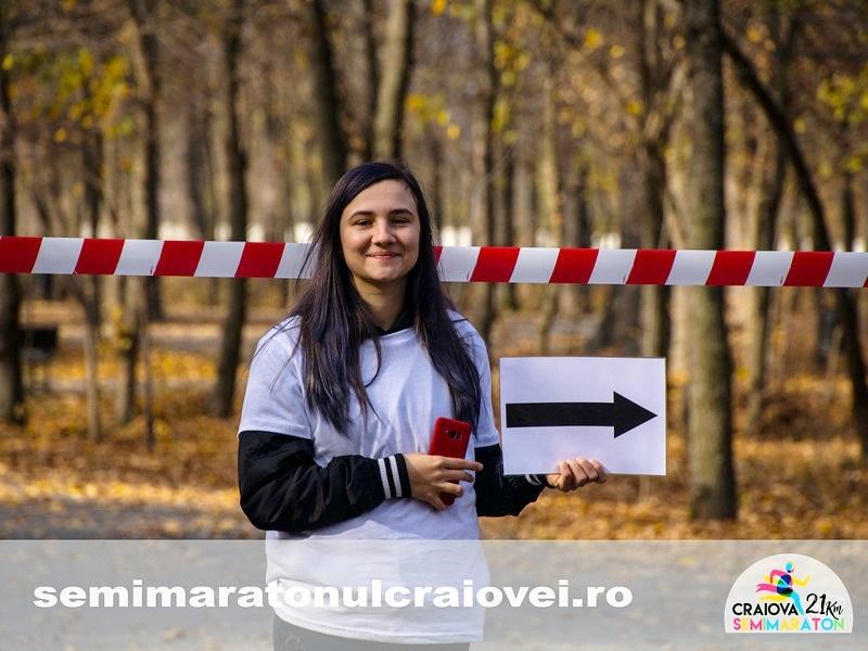 Voluntar Semimaratonul Craiovei