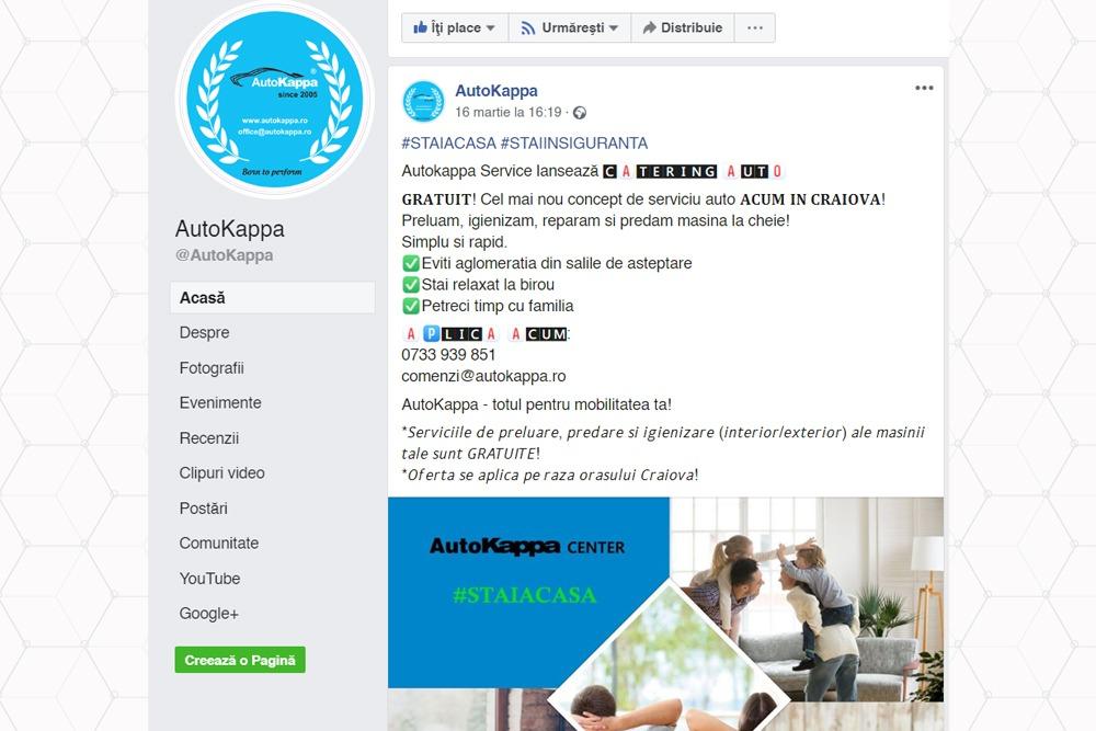 AutoKappa lanseaza serviciul de catering auto