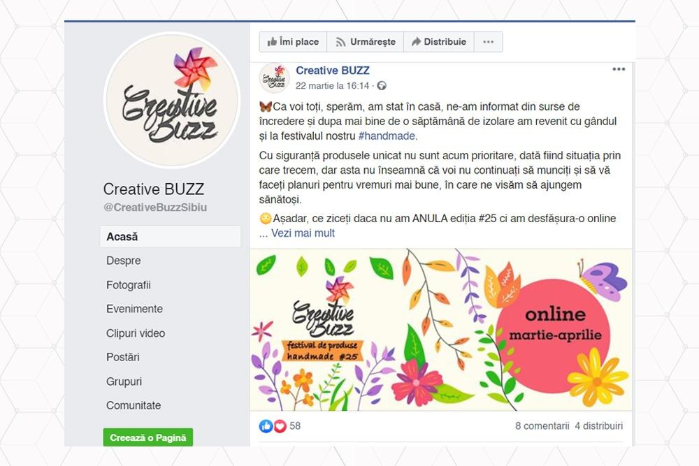 Creative Buzz - primul targ handmade online