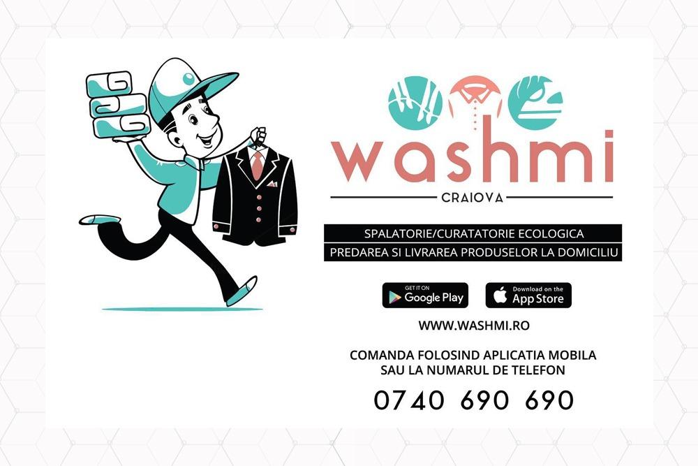 Washmi - spalatorie auto cu livrare la domiciliu