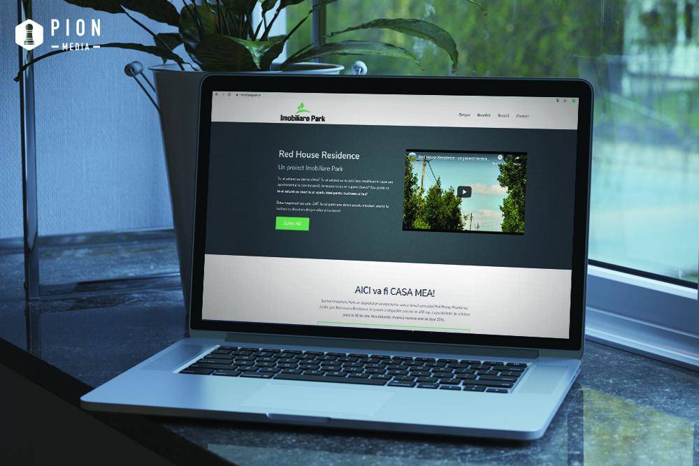 Actualul website Imobiliare Park
