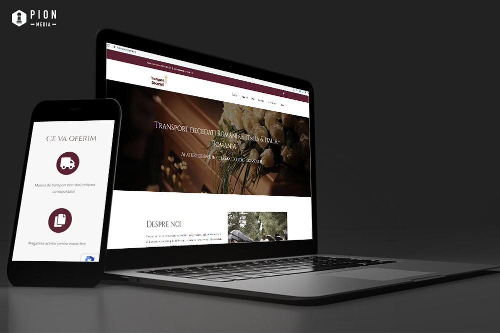 website-transport-decedati-pionmedia