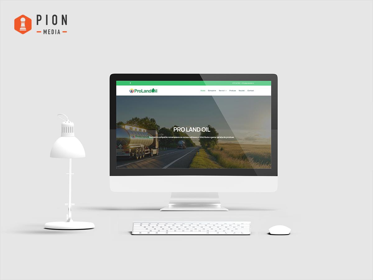 website-prezentare-pro-land-oil-pion-media